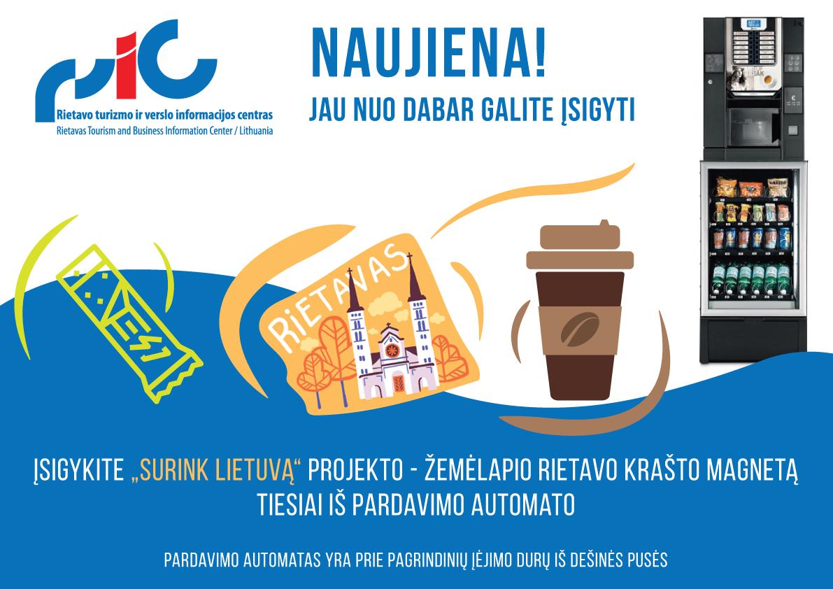 """Surink Lietuvą"" projektas - žemėlapis"