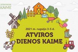 Atviros dienos kaime 2021 m.