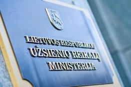 Užsienio reikalų ministerijai pateikta naujo projekto koncepcija