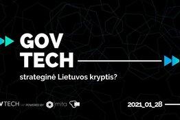 """Dalyvavimas """"GovTech"""" renginyje"""