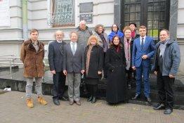"""Tarptautinis apskritasis stalas """"Oginskių giminės paveldas stiprinant kultūrinius Lietuvos ir Baltarusijos ryšius"""""""
