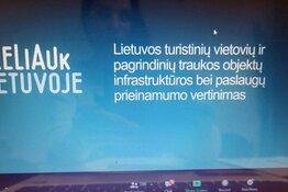Dalyvavimas renginyje dėl Lietuvos savivaldybių traukos objektų infrastruktūros bei paslaugų prieinamumo metodologijos vertinimo išvados