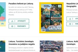 Turizmui skirti leidiniai