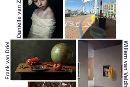"""Olandijos menininkų paroda """"Dutch light""""."""