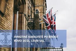 """Šiaulių prekybos, pramonės ir amatų rūmai kviečia į nemokamą nuotolinį seminarą """"Jungtinė Karalystė po BREXIT"""""""