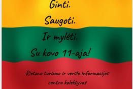 Sveikinimas Kovo 11-osios, Lietuvos nepriklausomybės atkūrimo dienos proga