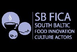 SB FICA South Baltic Food Innovation Culture Actors – Pietų Baltijos maisto inovacijų kultūros veikėjai.